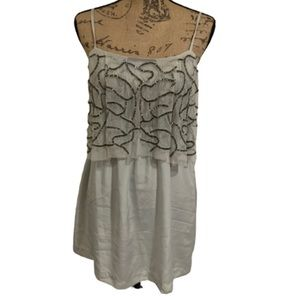 Urban Outfitters Silence&Noise silver grey dress